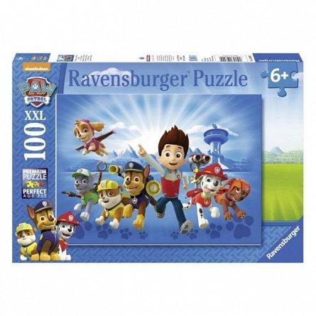 Puzzle Ravensburger - Patrula catelusilor, 100 piese