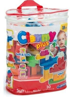 Set 30 cuburi,plasa,Clemmy