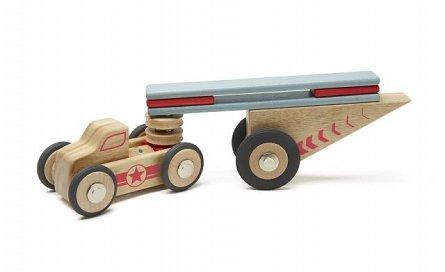 Jumper, set din lemn magnetic tegu