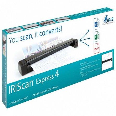 Scanner portabil IRIScan Express 4 Win/Mac