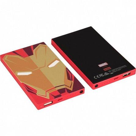 Baterie externa 4000mah Marvel Iron Man, 2A