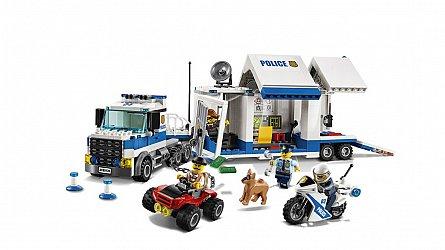 Lego-City,Centru de comanda mobil