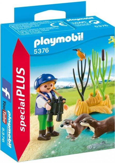 Playmobil-Tanara exploratoare cu vidre