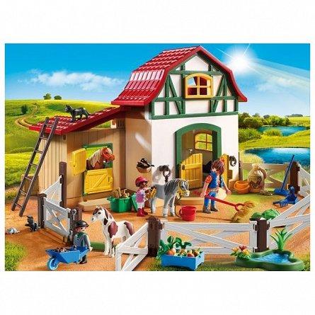 Playmobil-Ferma poneilor