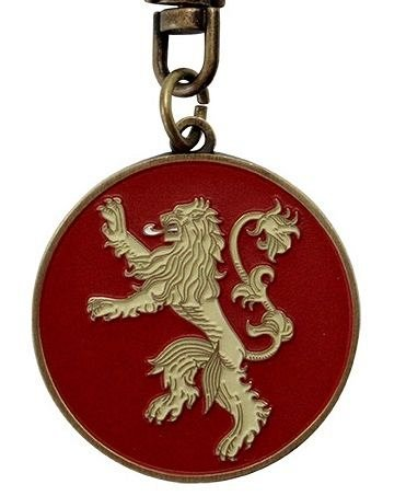 Breloc metalic Game of Thrones Lannister, ABYstyle