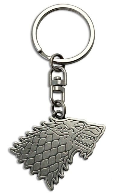 Breloc metalic Game of Thrones Stark 2, ABYstyle