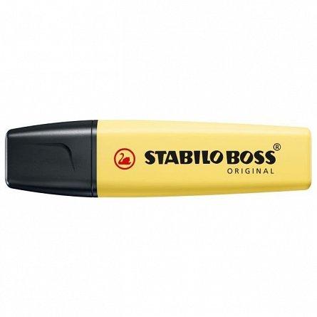 Textmarker Stabilo Boss,pastel,galben