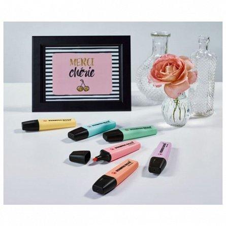 Textmarker Stabilo Boss,pastel,roz