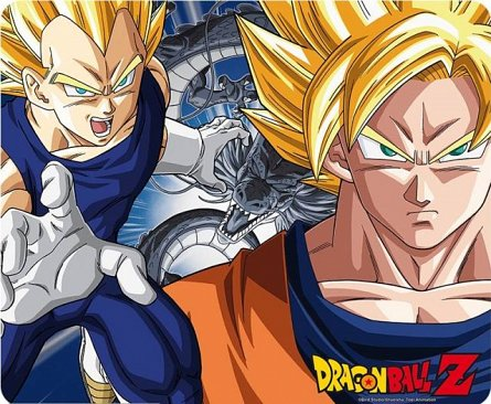Mousepad Dragon Ball DBZ/Goku & Vegeta - ABYstyle