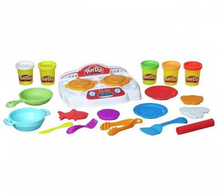 PlayDoh-Set creatie,Bucatarie,plita pt gatit
