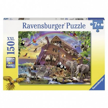 Puzzle Ravensburger - Arca cu animale, 150 piese