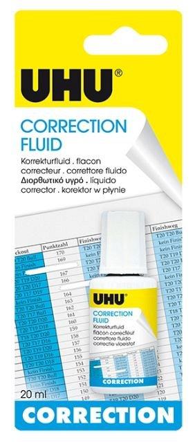 Fluid corector UHU,pe baza solvent,20ml