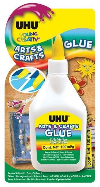 Lipici UHU Arts&Crafts,100ml,universal