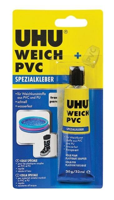 Lipici lichid UHU,30g,pt PVC moale