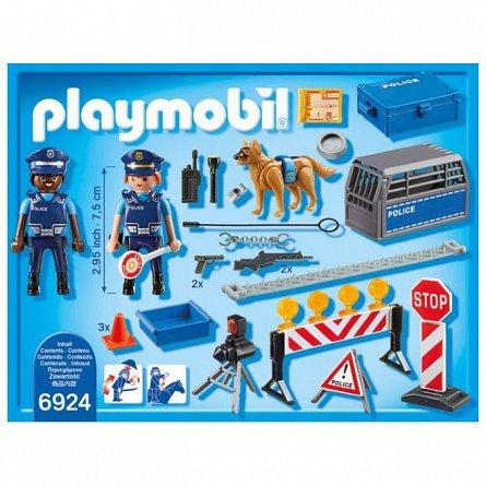 Playmobil-Blocaj rutie al politiei