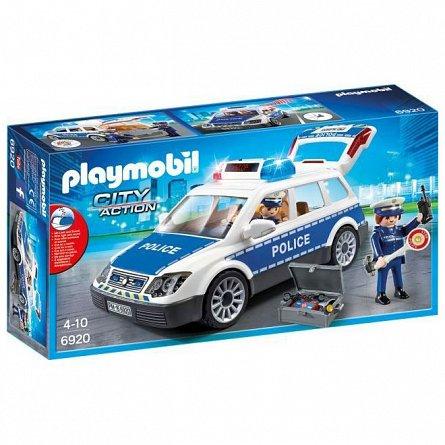 Playmobil-Masina de politie,cu lumina si sunete