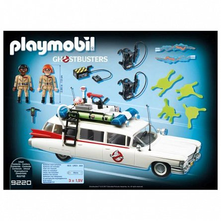 Playmobil-Vehiculul fantomelor