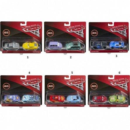 Masinuta Disney Cars,3 die cast, 2/set,div.modele