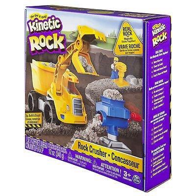 Kinetic Sand,nisip granulat,kinetic rock,340g,set excavator