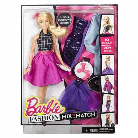 Papusa Barbie,Fashion,mix and match,tinute vestimentare