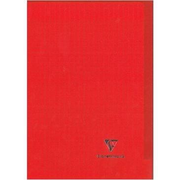 Caiet A4,48f,mate,coperta transp,Koverbook