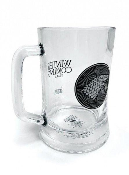 Halba de bere Game Of Thrones (Stark), sticla, 500ml