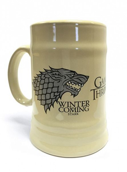 Halba Ceramica Game Of Thrones (House Stark), 625ml
