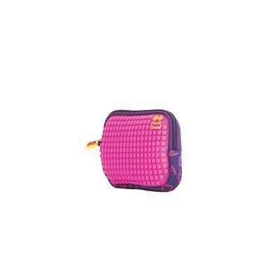 Pouch Pixie,15x11x2.3cm,fucsia/litere