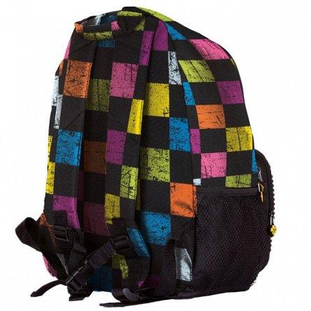 Rucsac Pixie,31x32x15cm,multicolor,chequered