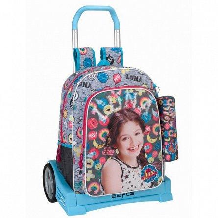Troller Evolution 33x43x15cm+pouch,Soy Luna