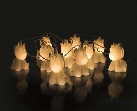 Luminite LED Unicorni, 10 buc, fir 2M - Unicorn
