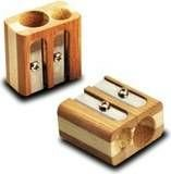 Ascutitoare dubla,lemn,Y-plus,Bambus