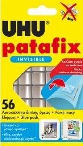 Pastile autoadezive UHU,Patafix Invisible,56buc
