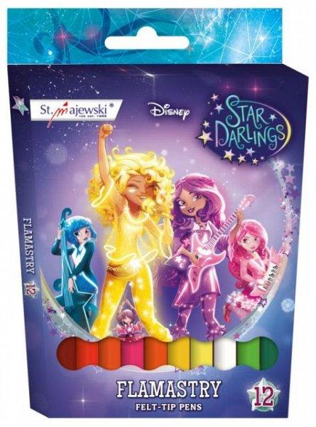 Markere pt copii,12cul/set,Star Darlings