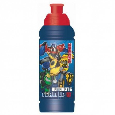 Bidonas apa 450ml,plastic,Transformers