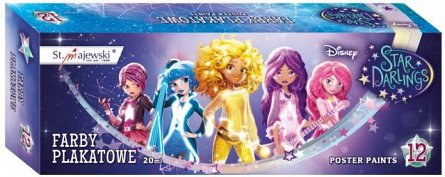 Tempera 12cul/set,Star Darlings