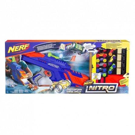 Nerf-Lansator,Nitro,Motofury,cu accesorii