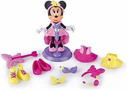 Figurina Minnie,cu accesorii Pop star