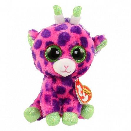 Plus TY Gilbert,Girafa roz,15cm