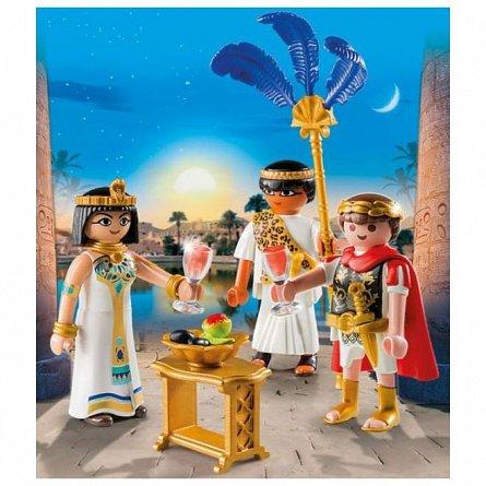 Playmobil-Caesar si Cleopatra