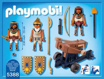 Playmobil-Soldati egipteni cu balista