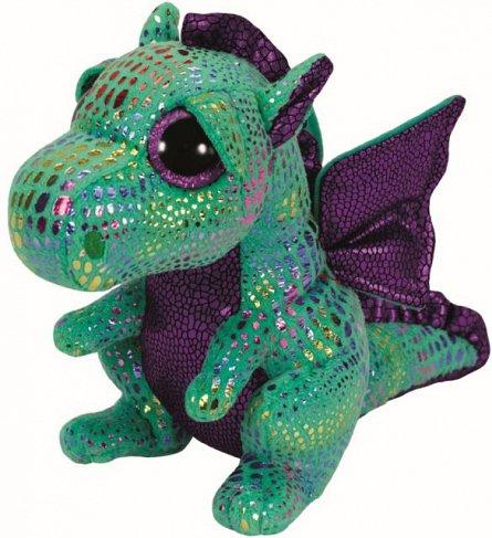 Plus TY Cinder,Dragon verde,15cm