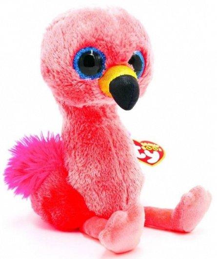 Plus TY Gilda,Flamingo roz,15cm