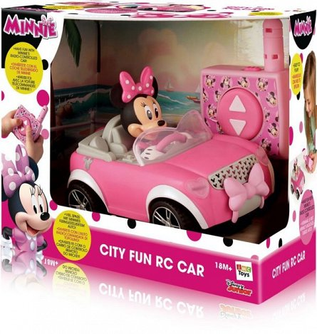 Masina RC Minnie in oras,2.4Ghz