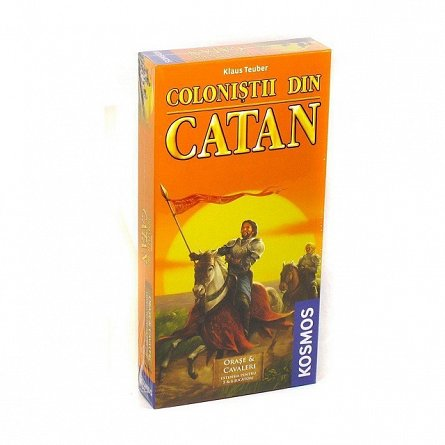 Colonistii din Catan-Orase si Cavaleri extensie 5-6 juc.