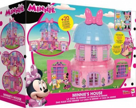 Casuta Minnie,Happy Helpers,figurine si acc