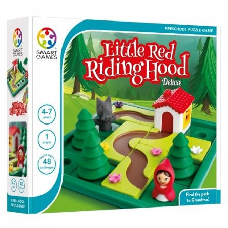 Joc Little Red Riding Hood Deluxe,SmartGames