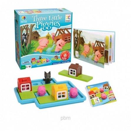 Joc Three Little Piggies Deluxe,SmartGames