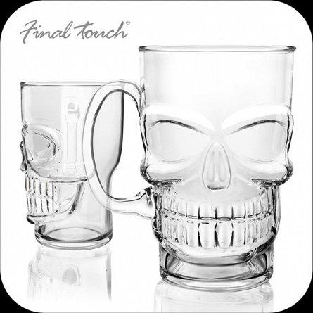 Halba de bere Craniu, sticla, 700ml - Final Touch