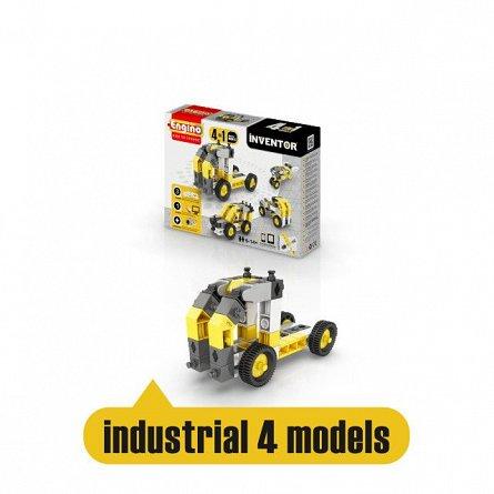 Engino,set constructie Inventor,4in1,Utilaje industriale